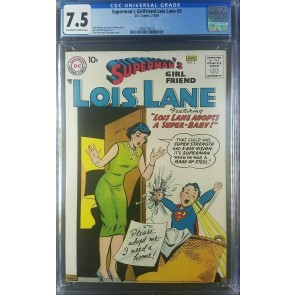 SUPERMANS GIRLFRIEND LOIS LANE (1958) #3 CGC 7.5 SUPERMAN DC COMICS 2095779014 |