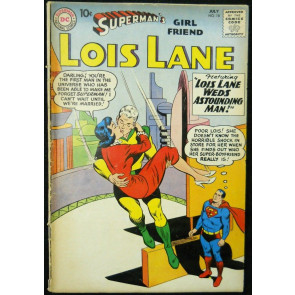 SUPERMAN'S GIRLFRIEND LOIS LANE #18 VG-