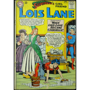 SUPERMAN'S GIRLFRIEND LOIS LANE #48 GD+