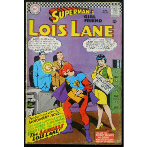 SUPERMAN'S GIRLFRIEND LOIS LANE #'s 64, 65, 66, 67, 68, 69 LOT OF 6 BOOKS