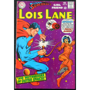 SUPERMAN'S GIRLFRIEND LOIS LANE #'s 81, 84, 85, 88, 90, 91, 92 LOT OF 7 BOOKS