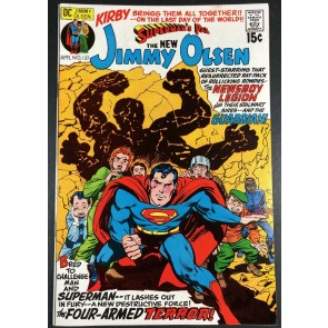 Superman's Pal Jimmy Olsen (1954) #137 VF (8.0) Newsboy Legion Jack Kirby Art