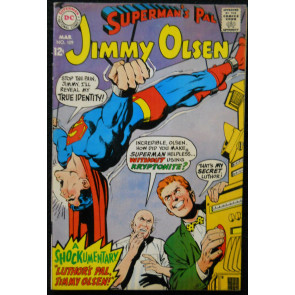 SUPERMAN'S PAL JIMMY OLSEN #109 FN/VF NEAL ADAMS COVER
