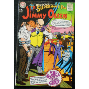 SUPERMAN'S PAL JIMMY OLSEN #117 VG+ NEAL ADAMS COVER