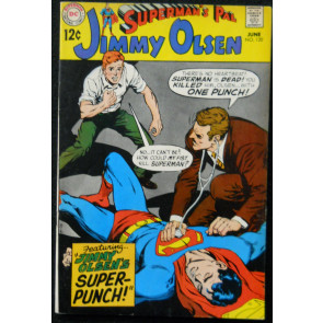 SUPERMAN'S PAL JIMMY OLSEN #120 FN NEAL ADAMS COVER
