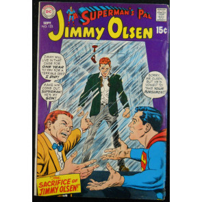 SUPERMAN'S PAL JIMMY OLSEN #123 VG