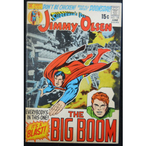 SUPERMAN'S PAL JIMMY OLSEN #138 FN/VF JACK KIRBY STORY/ART  PARTIAL PHOTO COVER