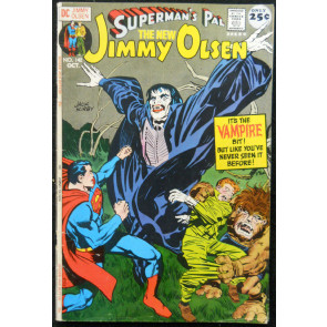 SUPERMAN'S PAL JIMMY OLSEN #142 FN JACK KIRBY