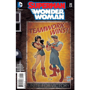 Superman/Wonder Woman (2013) #20 VF/NM Bombshells Variant Cover