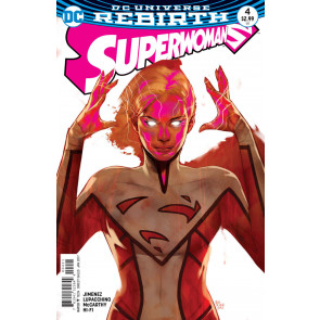 Superwoman (2016) #4 Ben Oliver Cover DC Universe Rebirth