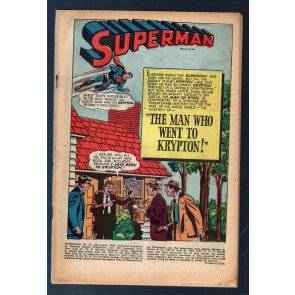 Superman (1939) #77 coverless 1952