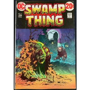 Swamp Thing (1972) #4 FN+ (6.5) Bernie Wrightson cover & art