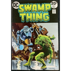Swamp Thing (1972) #6 VF+ (8.5) Bernie Wrightson cover & art