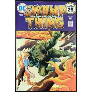 Swamp Thing (1972) #14 VF- (7.5) Nestor Redondo Art