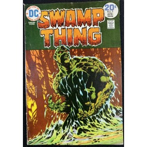 Swamp Thing (1972) #9 VG+ (4.5) Bernie Wrightson Cover & Art