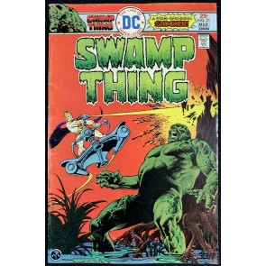 Swamp Thing (1972) #21 VG (4.0) Nestor Redondo Cover & Art