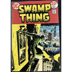 Swamp Thing (1972) #7 FN+ (6.5) Wrightson Batman cover & art
