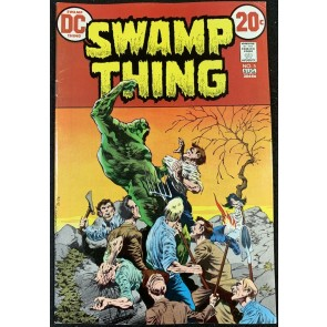Swamp Thing (1972) #5 FN/VF (7.0) Bernie Wrightson cover & art