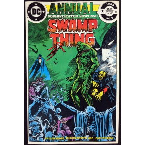 Swamp Thing Annual (1985) #2 VF/NM (9.0) Justice league Dark Alan Moore story