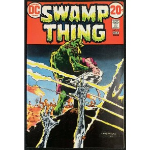 Swamp Thing (1972) #3 VF+ (8.5) 1st full app Patchwork Man Bernie Wrightson art