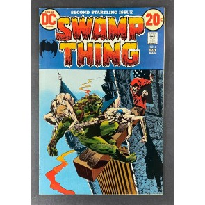 Swamp Thing (1972) #2 VF- (7.5) 1st Appearance Patchwork Man Bernie Wrightson