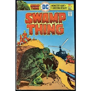 Swamp Thing (1972) #22 VG+ (4.5) Ernie Chan Cover Nestor Redondo Art