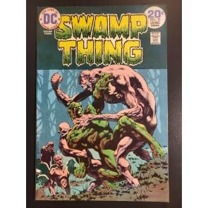 Swamp Thing #10 (1974) VF+ 8.5 Classic Bernie Wrightson art 