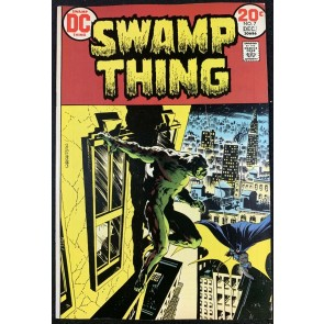 Swamp Thing (1972) #7 VF+ (8.5) Wrightson Batman cover & art