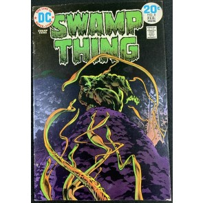 Swamp Thing (1972) #8 FN+ (6.5) Bernie Wrightson Cover & Art