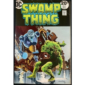Swamp Thing (1972) #6 FN+ (6.5) Bernie Wrightson cover & art