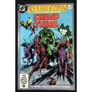 Swamp Thing (1982) #50 VF- (7.5) 1st full app Justice league Dark Alan Moore