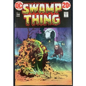 Swamp Thing (1972) #4 FN/VF (7.0) Bernie Wrightson cover & art