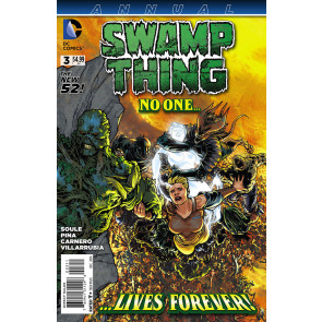 SWAMP THING ANNUAL (2014) #3 VF/NM THE NEW 52!