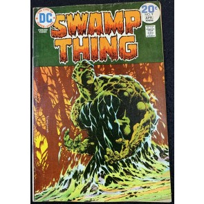 Swamp Thing (1972) #9 VG/FN (5.0) Bernie Wrightson Cover & Art