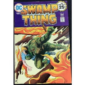 Swamp Thing (1972) #14 VF- (7.5) Nestor Redondo StoryArt