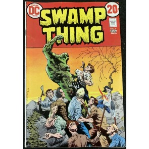 Swamp Thing (1972) #5 FN (6.0) Bernie Wrightson cover & art