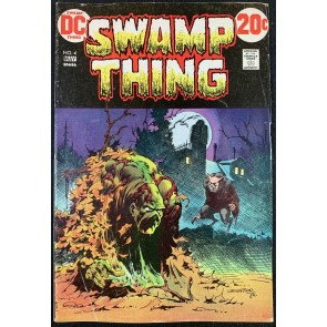 Swamp Thing (1972) #4 VG+ (4.5) Bernie Wrightson cover & art