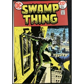 Swamp Thing (1972) #7 VF- (7.5) Wrightson Batman cover & art