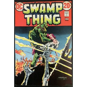 Swamp Thing (1972) #3 VF (8.0) 1st full app Patchwork Man Bernie Wrightson art