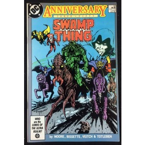 Swamp Thing (1982) #50 VF+ (8.5) 1st full app Justice league Dark Alan Moore