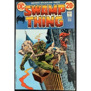 Swamp Thing (1972) #2 FN- (5.5) 1st app Patchwork Man