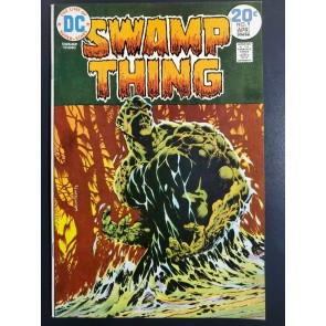 SWAMP THING #9 (1974) VF/NM (9.0) CLASSIC BERNIE WRIGHTSON COVER |