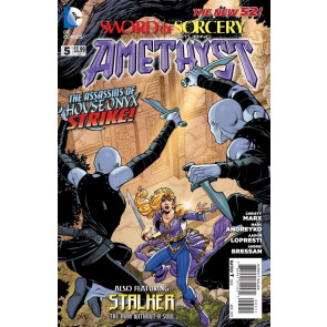 SWORD OF SORCERY FEATURING AMETHYST (2012) #5 VF/NM THE NEW 52!