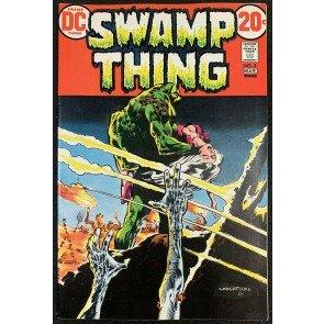 Swamp Thing (1972) #3 VF+ (8.5) 1st full app Patchwork Man Bernie Wrightson art