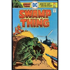 Swamp Thing (1972) #22 VF+ (8.5) Ernie Chan Cover Nestor Redondo Art