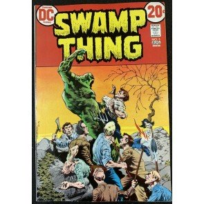 Swamp Thing (1972) #5 VF/NM (9.0) Bernie Wrightson cover & art