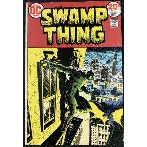 Swamp Thing (1972) #7 VF+ (8.5) Wrightson Batman cover & art