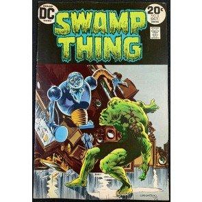 Swamp Thing (1972) #6 FN/VF (7.0) Bernie Wrightson cover & art