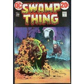 Swamp Thing (1972) #4 FN/VF (7.0) Bernie Wrightson cover & art