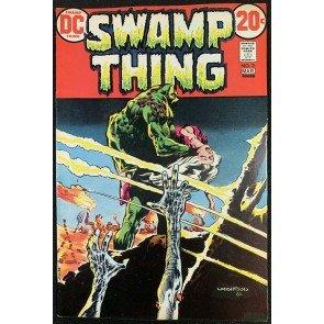 Swamp Thing (1972) #3 VF (8.0) 1st full app Patchwork Man Bernie Wrightson art